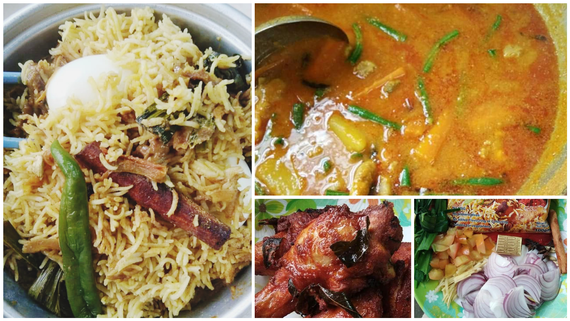Resepi Nasi Beriani Mudah Sangat Dengan Ayam Goreng Mamak Special. Memang Best!