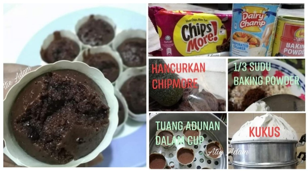 resepi apam coklat 3 bahan