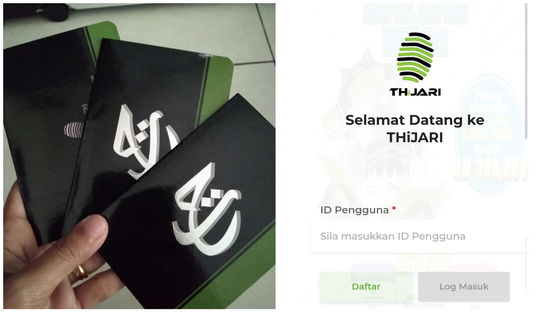 Cara Daftar Akaun Tabung Haji Online Guna Thijari Senang Nak Semak Baki Transfer Duit