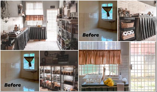 Diy Dekorasi Bajet Dapur Rumah Sewa