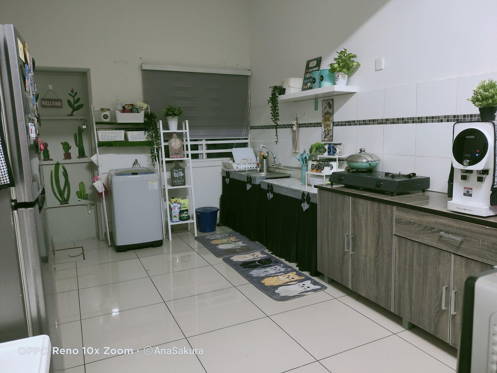 Transformasi Deko Dapur Tanpa Kabinet Dalam Masa 7 Jam Kemas