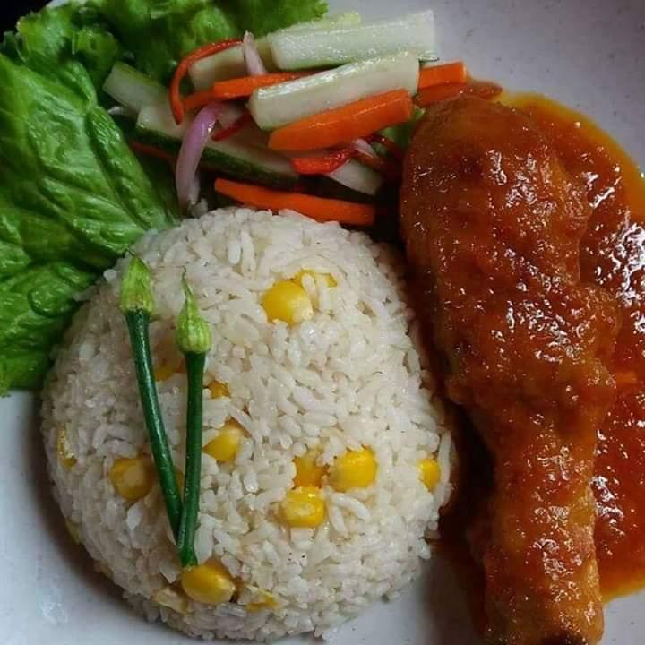 Resepi nasi jagung