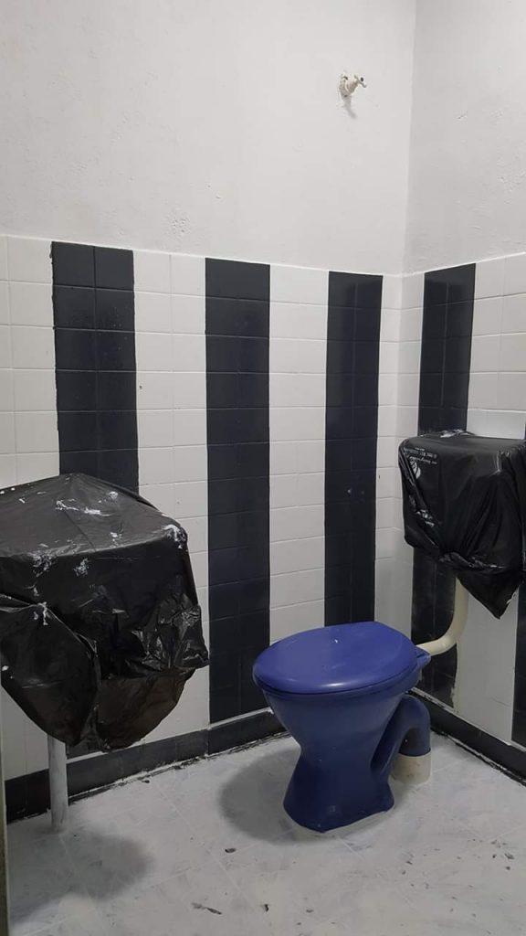 cat untuk tandas
