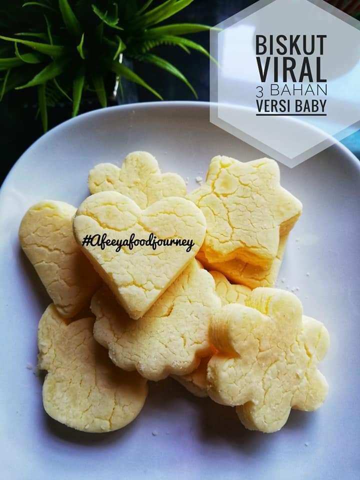 resepi biskut baby  bahan  senang nak buat sedap Resepi Biskut Nestum Untuk Bayi Enak dan Mudah