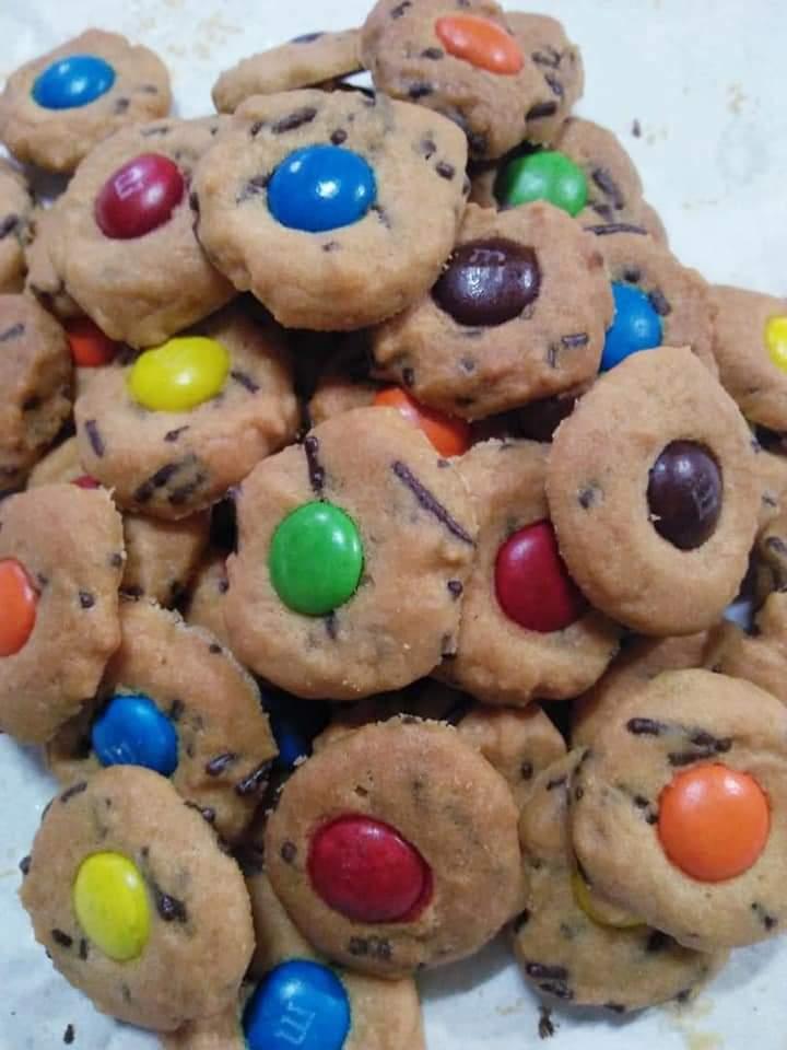 Resepi biskut m&m