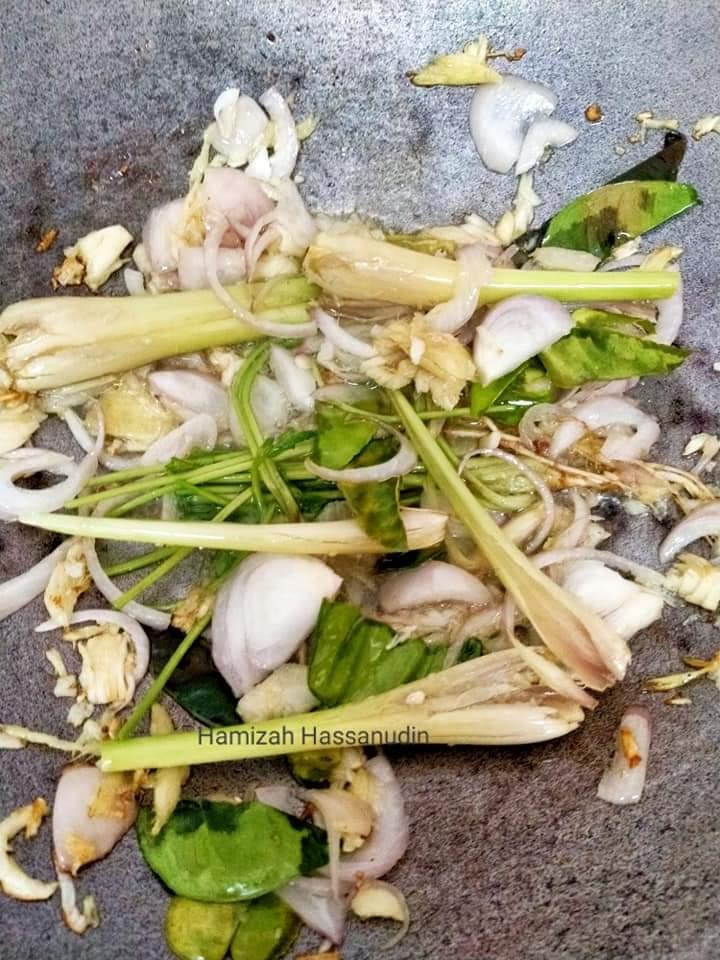 Resepi sup tulang ala thai