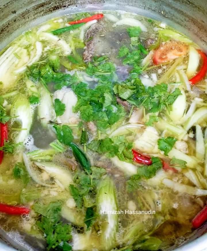 resepi sup siam