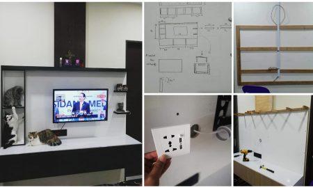 Diy kabinet tv