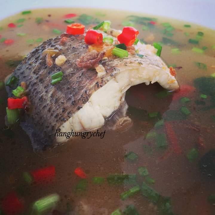 resepi sup ikan merah siakap