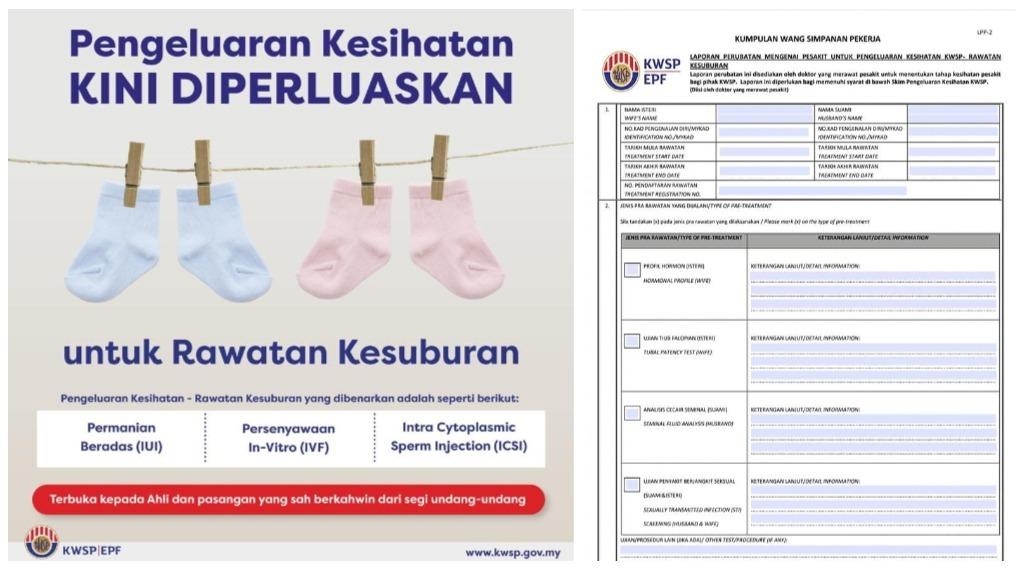 pengeluaran kwsp untuk rawatan kesuburan