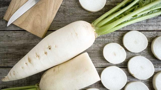 Khasiat lobak putih