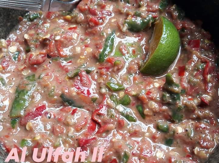 Resepi sambal belacan