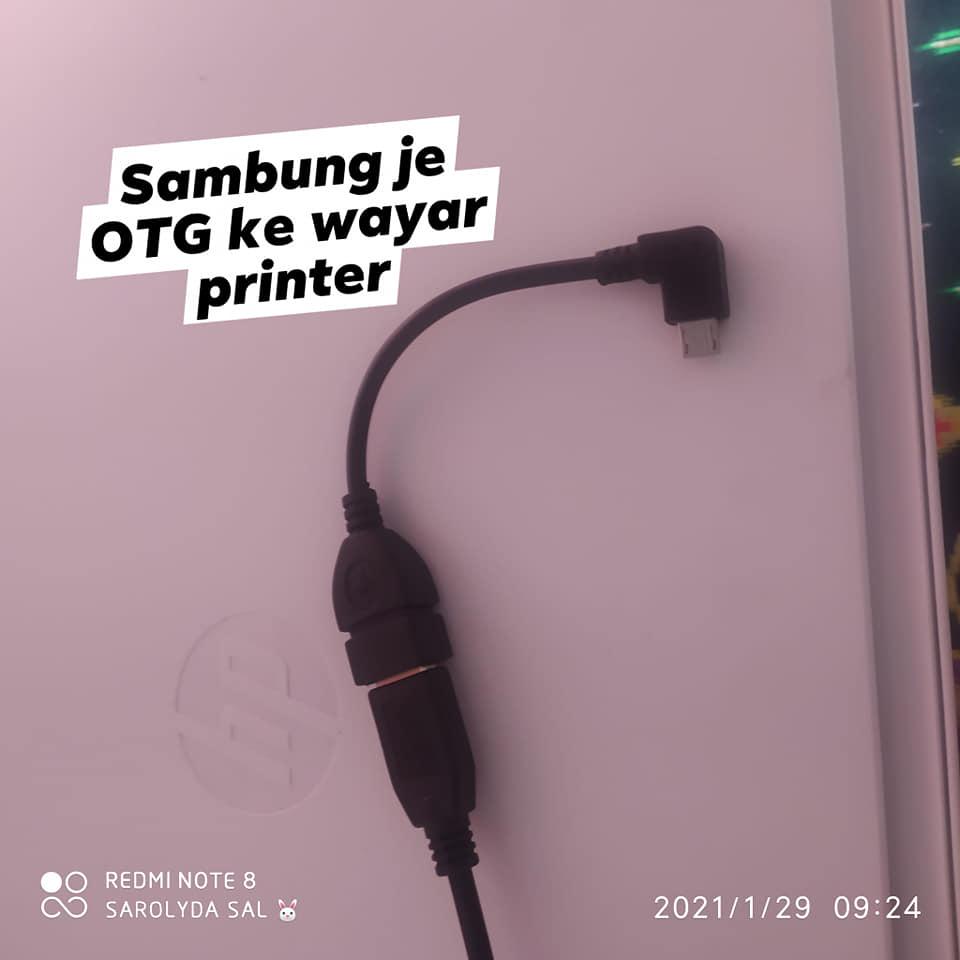 cara print dari handphone ke printer