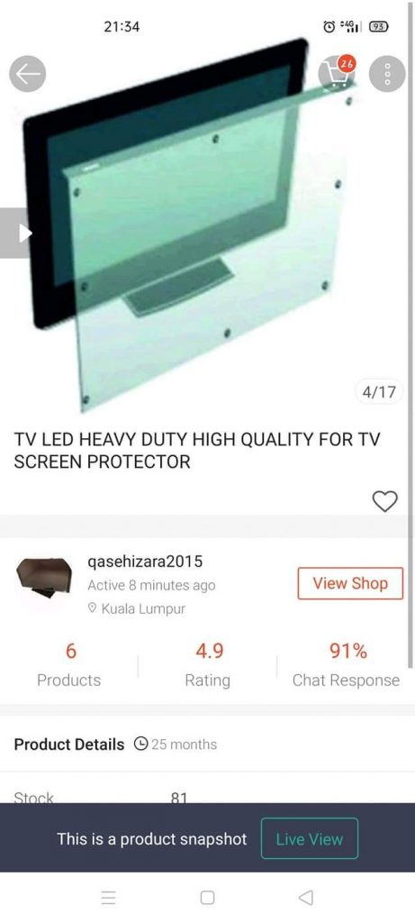 Tv protector malaysia