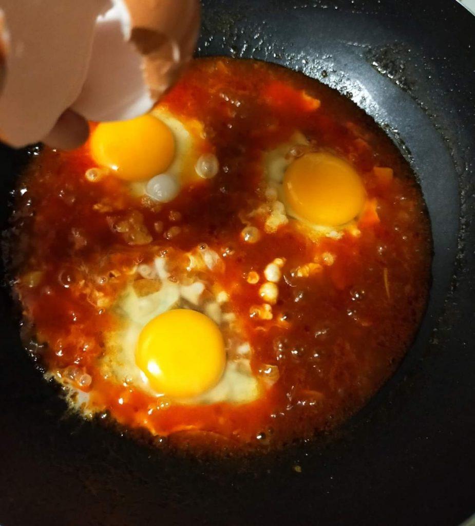 resepi sambal telur pecah