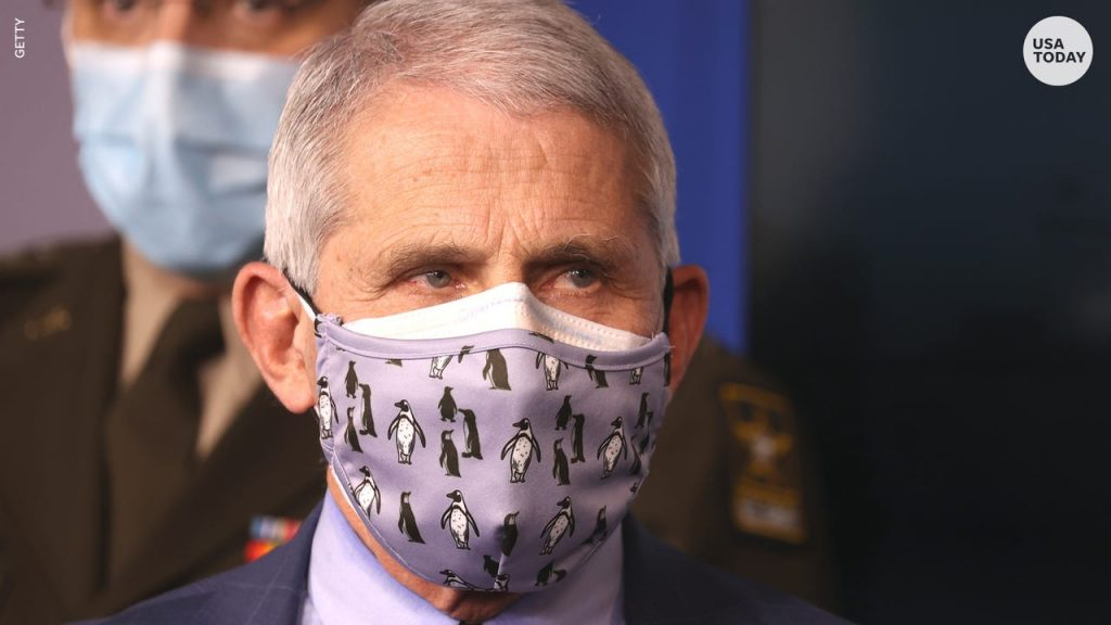 Dr Fauci Double Mask