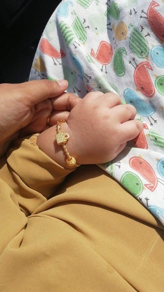 Anak tertelan gelang emas