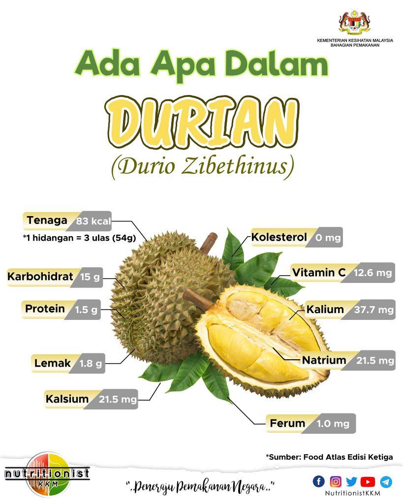 khasiat durian ibu mengandung