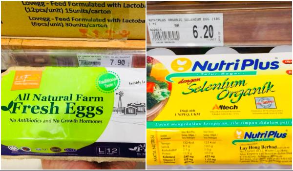 cara pilih telur