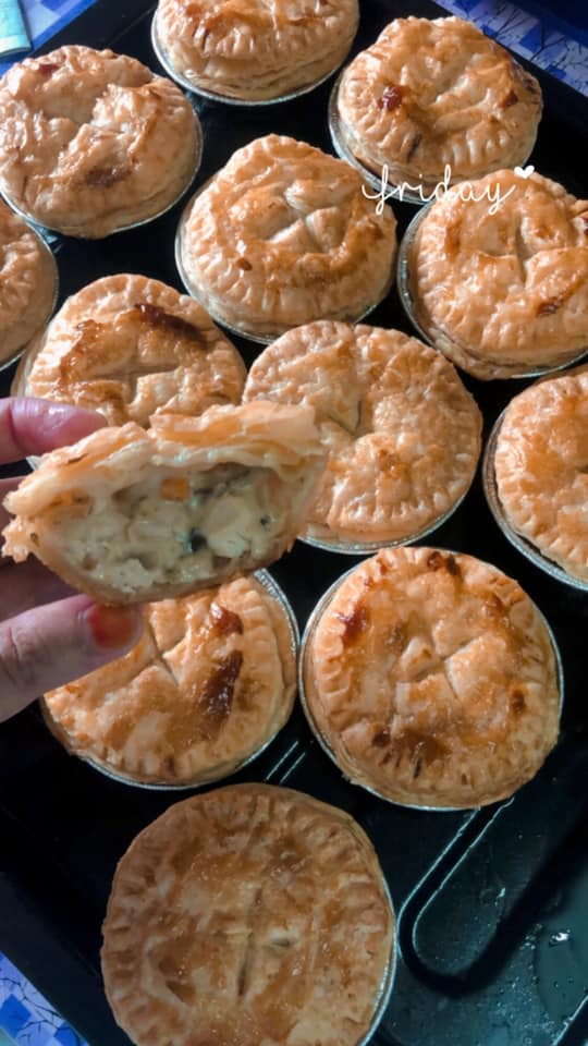 resepi mushroom chicken pie