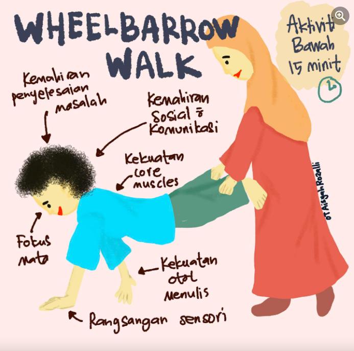 wheelbarrow walk