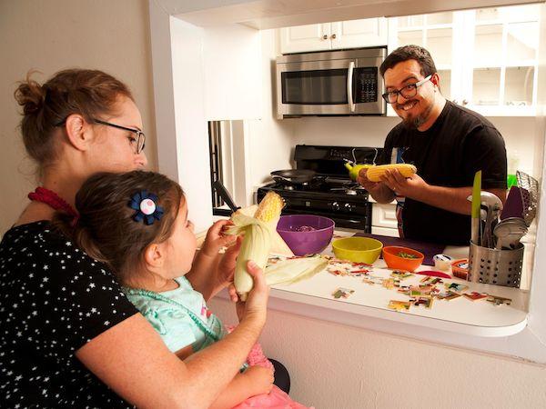 Sekali-sekala, isteri ingin rasa masakan suami juga