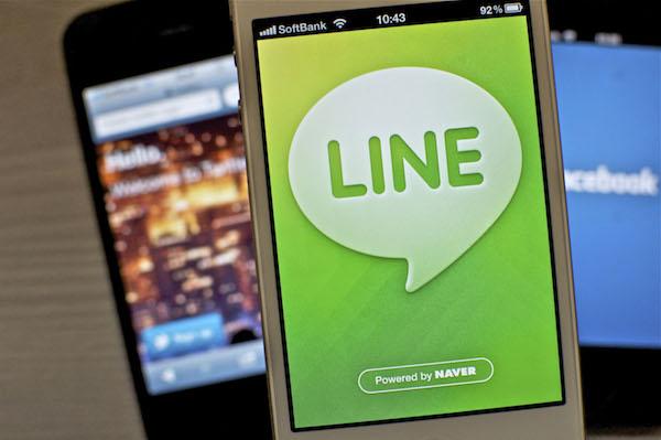 Line tidak sepopular WeChat dan WhatsApp