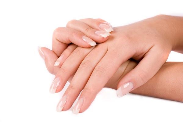 Sapu kulit tangan dan muka dengan losyen
