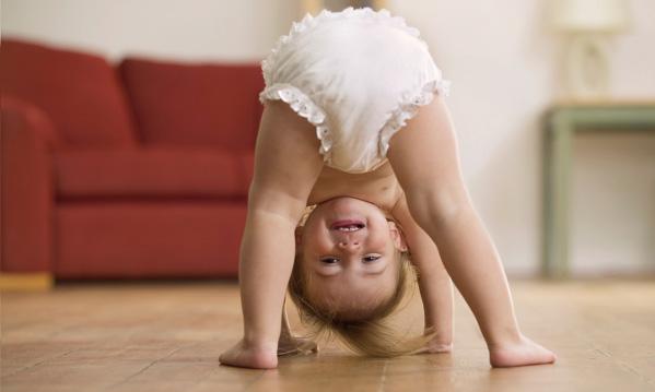 Anak ceria jika tiada kerengsaan pada kulit