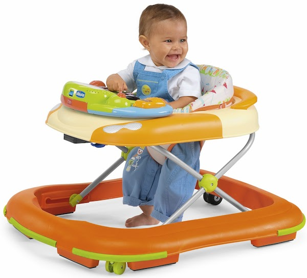 'Baby walker' sebagai alat bantu bayi berjalan