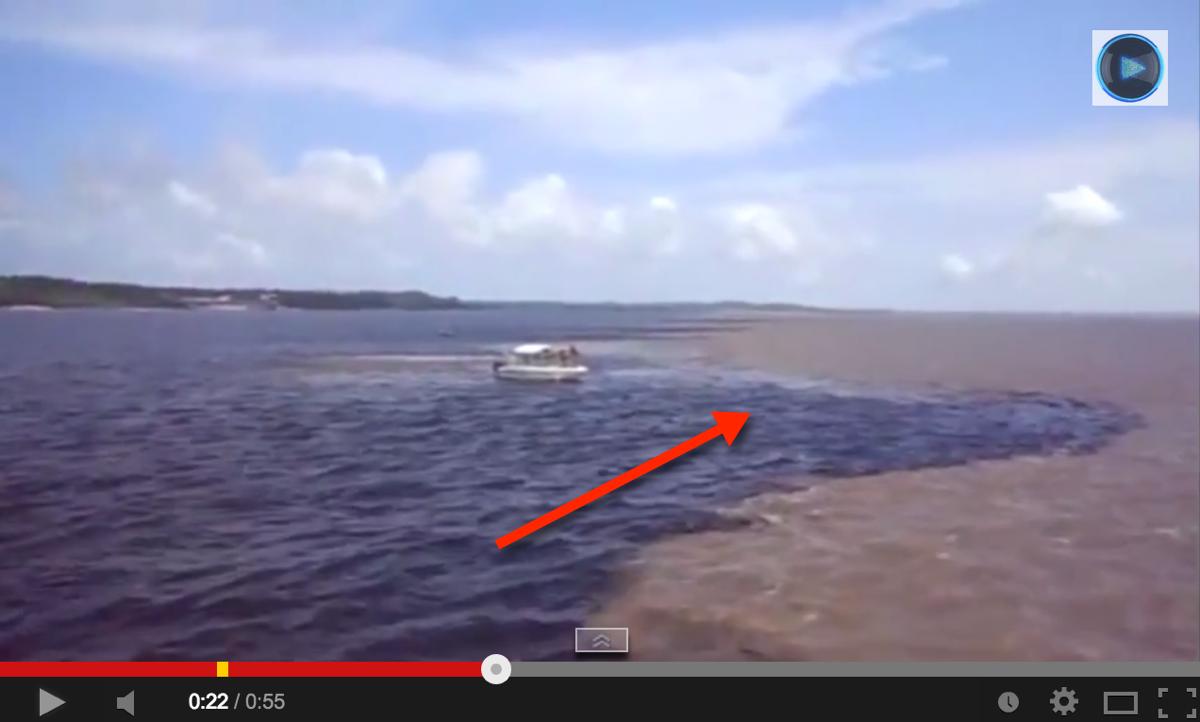 Lihat Dua Air Tidak Bercampur, Video Jarak Dekat. Bukti Al-Quran Itu Benar!