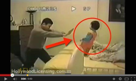Bapa Ini Kungfu Anak Sendiri Untuk Ajak Tidur!