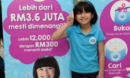 "Mia Sara Nasuha, Duta Dutch Lady ""Growing Up Milk"""