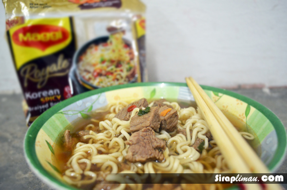 Maggi Royale Korean Spicy Beef 2