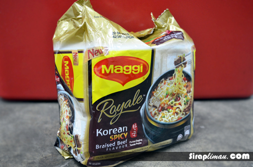 Maggi Royale Korean Spicy Beef di pasaran 2