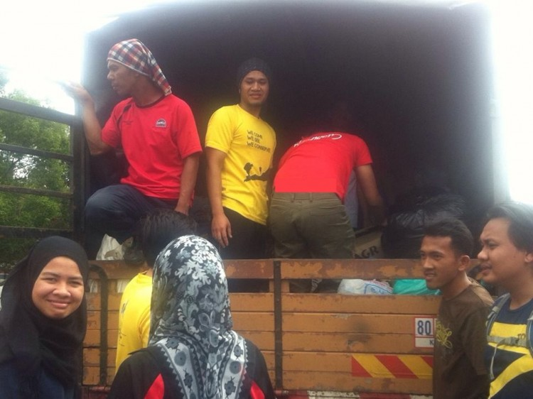 Misi Bantuan Banjir 2014 9