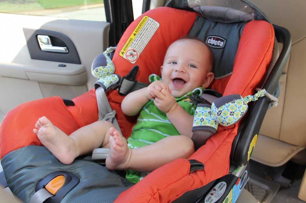 Ajar Anak Duduk Dalam Car Seat