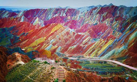 Bentuk Muka Bumi Zhangye Zanxia