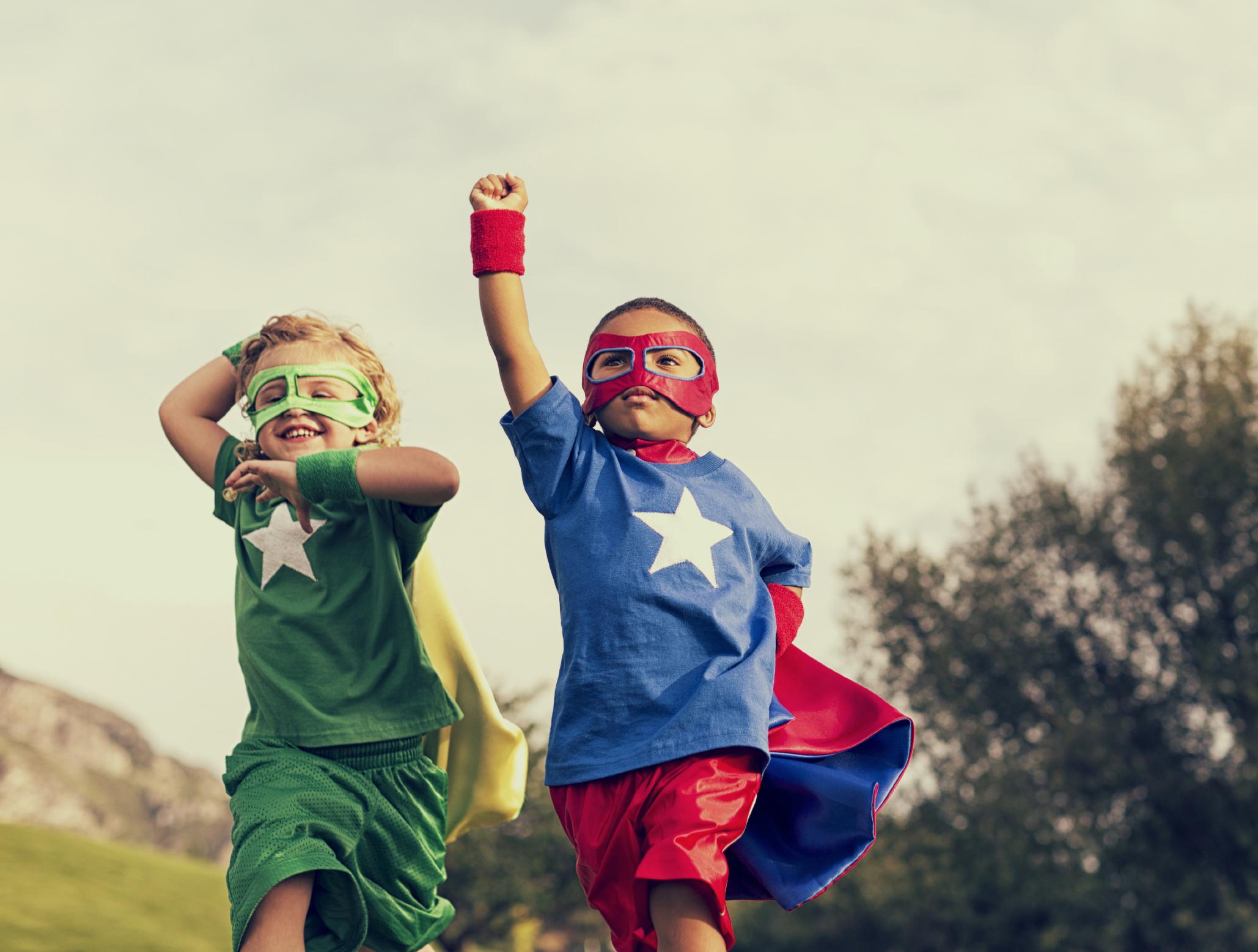 superhero anak kecil