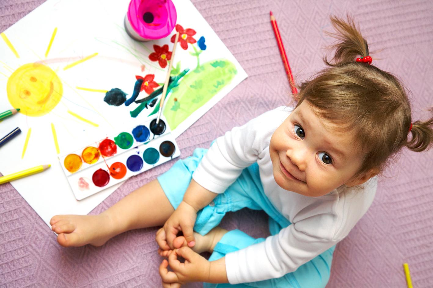 Ajar anak kenal warna