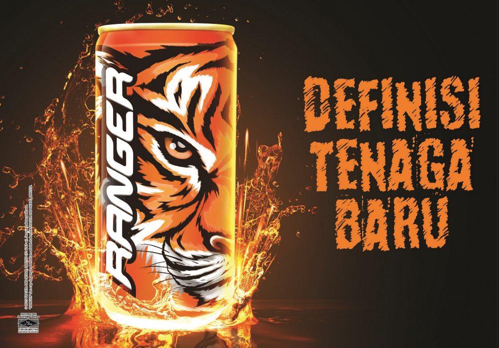minuman tenaga RANGER F&N