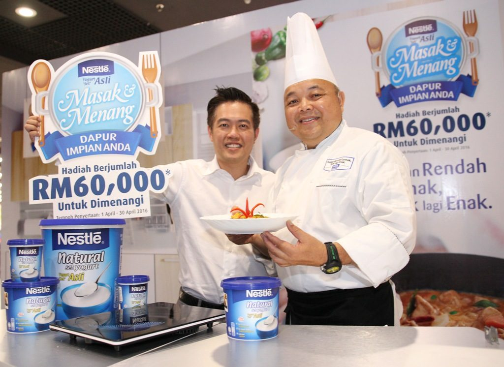 Wilfrid Foo - Business Executive Manager of Nestle Chilled Dairy (L) & C...