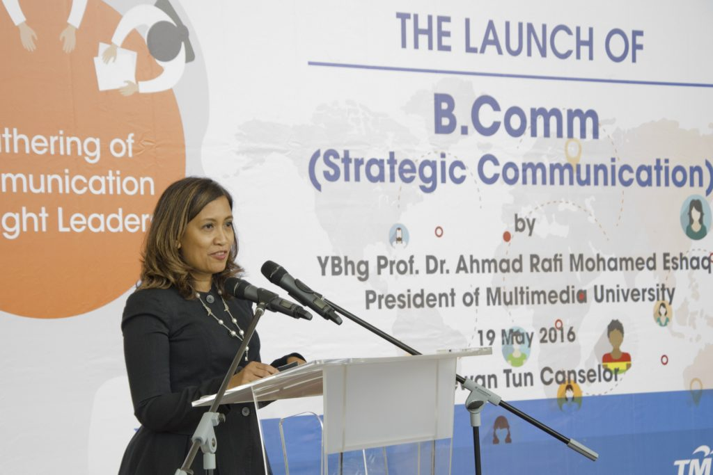 The launch BCom 03