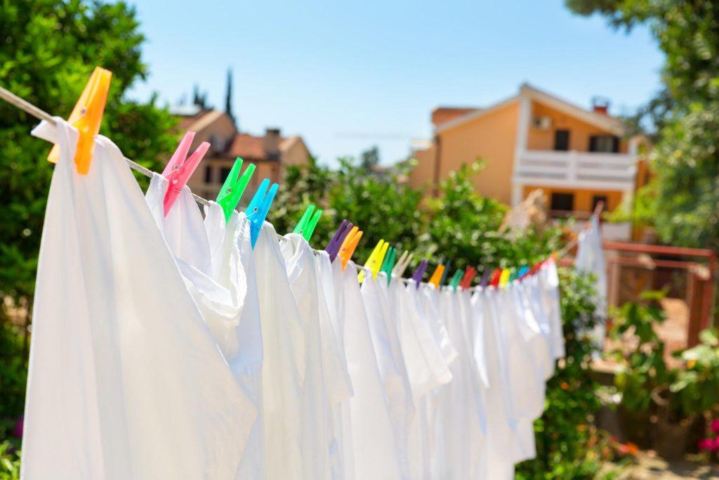 cara putihkan baju