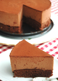resepi brownies choco mousse
