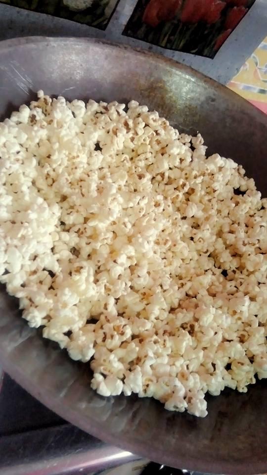 cara buat popcorn 6