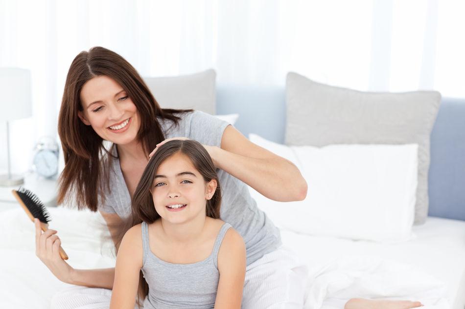 cara melebatkan rambut anak