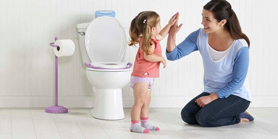 ajar anak ke tandas
