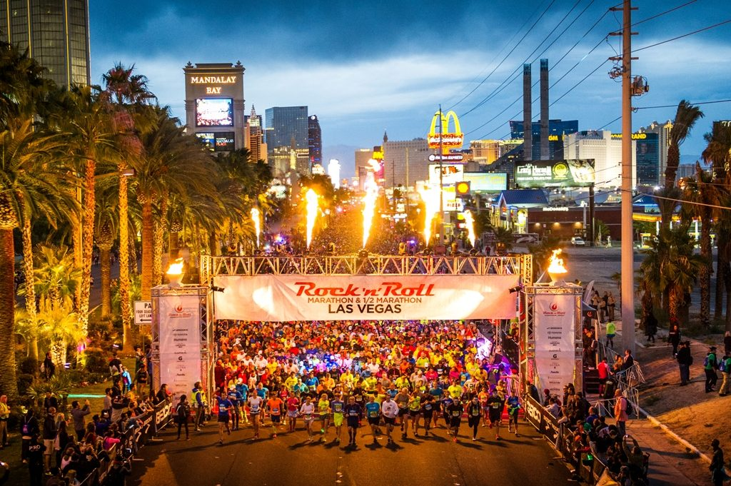 Rock 'n' Roll Marathon Las Vegas (Photo credit - Ryan Bethke - Rock 'n' Roll Marathon Series)