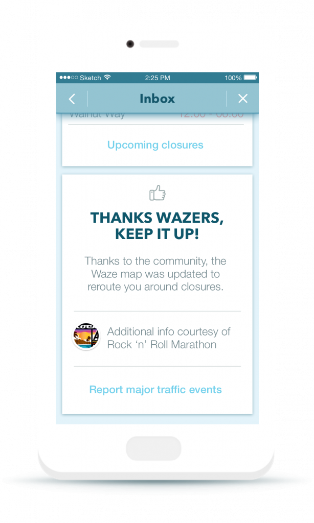 Waze Global Event Partner Program - Inbox Msg 2